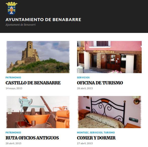 web Benabarre