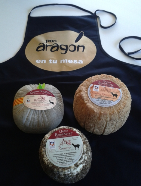 1.queso-benavarri-natural-pirineo-benabarre-jornadas campo aragon mesa-2015